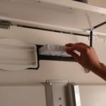 Extracción de filtros recuperador